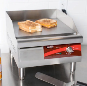 16 Electric Countertop Restaurant Commercial Griddle Parrilla Electrica 120v