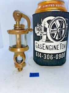 Lunkenheimer Crown No 0 Swing Top Oiler Lubricator Hit Miss Gas Engine