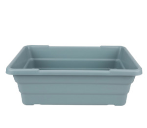 Meat Lug Tub 4 Pack 15 X 24 X 8 Commercial Storage Restaurant Gray Tote Box