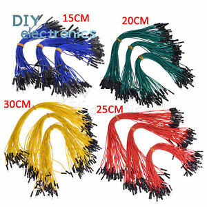 50pcs Dupont Wire Jumper Cable 2 54mm Male To Female 15cm 20cm 25cm 30cm B2ae