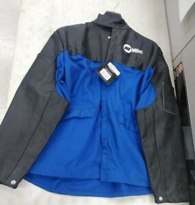 Miller 231080 30 Combo Clth le Welding Jacket Sz Small