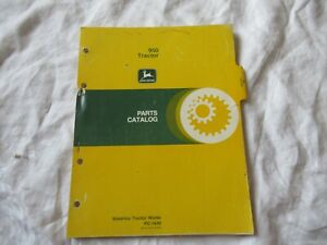 John Deere 950 Tractor Parts Catalog Book Manual