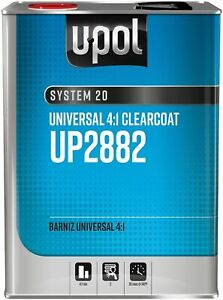 National Rule Clearcoats 4 1 Universal Clearcoat Clear 8lbs