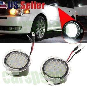 Led Side Mirror Puddle Light Kit For Ford F 150 Explorer Expedition Edge Fusion