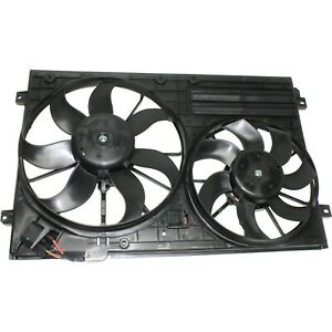 Radiator Cooling Fan For 2005 2016 Volkswagen Jetta 2006 2010 Passat