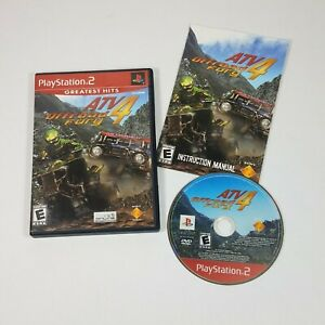 GUC ATV Offroad Fury 4 PLAYSTATION 2 Greatest Hits PS2 Complete TESTED WORKING