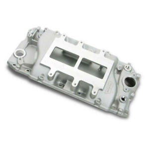 Weiand Intake Manifold 6130win 177 Satin For Chevy 396 454 Bbc