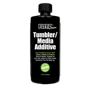 FLITZ INTERNATIONAL TA 04885 FLITZ TUMBLER MEDIA ADDITIVE 7.6OZ BOTTLE $19.53