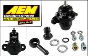 Aem 25 303bk Adjustable Fuel Pressure Regulator Fpr 90 93 Acura Integra Honda