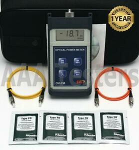 Fis Ov pm Sm Mm Fiber Optic Power Meter F18513hh Ovpm