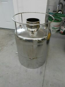 Precision Stainless Inc 316l Stainless Steel 45 Liter Pressure Vessel Ss Skirt