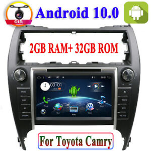 Android 10 0 Car Radio For Toyota Camry 2012 Gps Navigation Sat Bt Usb Dvd Sd Fm