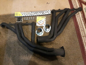 Chevy Small Block 327 305 350 Used Exhaust Headers With New Hardware