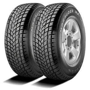 2 New Maxxis Marauder Ma S1 255 60r17 106h A S Performance Tires