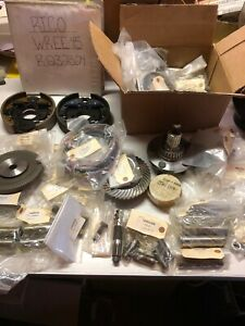 Rico Forklift Lift Truck Parts Lot New Gears Axles Harness Brakes And More