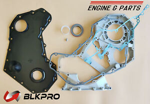 Front Timing Gear Housing Cover Gasket Front Oil Seal P For Dodge 5 9l Cummins