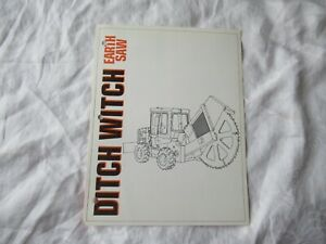 Ditch Witch Earth Saw Brochure