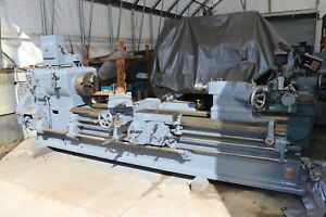 Leblond Sliding Gap Bed Lathe 32 60 X 7 5 12 Taper Attachment