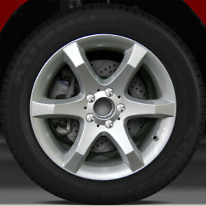 17x8 5 Factory Wheel Bright Fine Silver For 2007 Mercedes C230