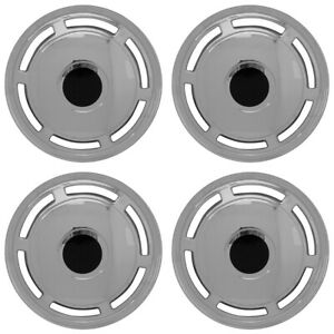 15 Push On Chrome Wheel Cover Hubcaps For 1986 1996 Chevy Caprice