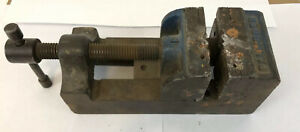 Vintage Palmgren Vise Drill Press 2 1 2 Toolmakers Vise Machinist Fixture