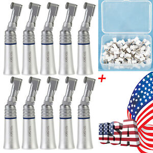 Nsk Style Dental Low Speed Contra Angle Handpiece Latch polishing Cups Bs