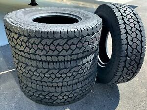 4 Goodyear Wrangler Adventure Lt 31x10 50r15 R t A t Rugged all Terrain Tires