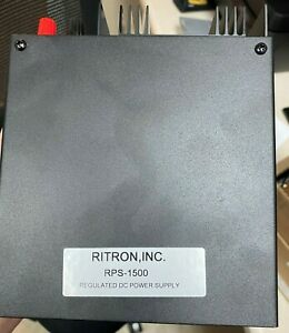 Ritron Rps 1500 Rs 4a Dc Power Supply