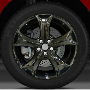 20x7 5 Factory Wheel pvd Dark For 2009 2015 Toyota Venza