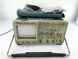 Tektronix 2465a Ct Oscilloscope 4 channel 300 Mhz With 10073c Probe