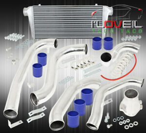 86 91 Mazda Rx7 Fc Jdm Performance Intercooler Piping Kit Coupler Clamps Blue