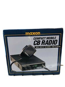 Maxon Mcb 30 40channel Compact Mobile Cb Radio Transceiver New