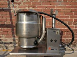 Groen Kettle Commercial Self Contained Steam Jacketed Chocolate Melting Pot 220v