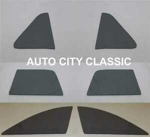 1949 1950 1951 Ford Side Glass Club Coupe Vent Door Quarter Flipper Grey