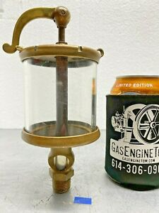 Lunkenheimer Crown No 5 Swing Top Oiler Lubricator Hit Miss Gas Engine