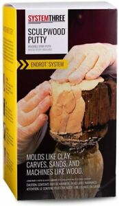 Moldable Epoxy Putty To Replace Rotten Husked Wood Cracks 64oz