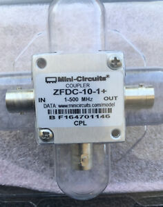New Mini circuits Zfdc 10 1 Coupler 1 500mhz