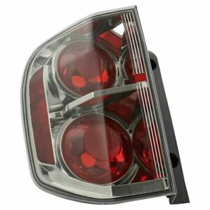 Tail Light Lamp Assembly Driver Side Lh For Honda Pilot New
