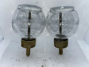 Lunkenheimer Globe Ball Bulb Glass Oilers Hit Miss Gas Engine Steampunk