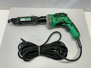 Hitachi W6v4 Drywall Screw Gun Hitachi Super Drive 120 Volt Reversible