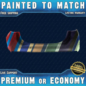 New Painted To Match Rear Bumper Replacement For 2013 2018 Ford Fusion W Park