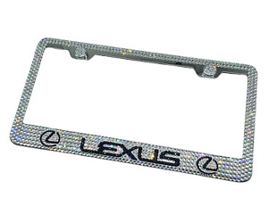 Bling Lexus License Plate Frame Made With Swarovski Crystals Jewelry