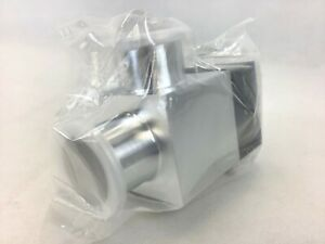 Inficon 253 422 Vap040 a Angle Valve W position Indicator 1 4 Pneumatic Fitting