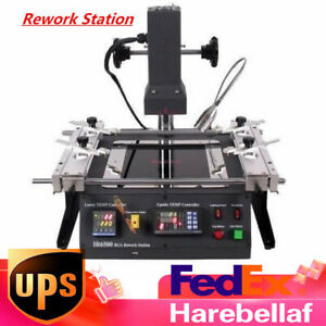New Upgraded Bga Air Infrared Rework Station Reflow Reball For Xbox360 Ps3 Us