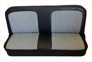 Chevy Gmc Pickup Vinyl Houndstooth Seat Upholstery For Front Bench 1967 1972