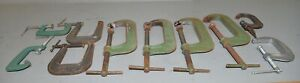 10 Woodworking Metal Clamps Taylor Forbes Pearlitic Deep Throat Craftsman More