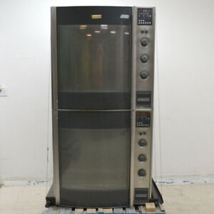Hobart Hr7 Electric Dual Commercial Rotisserie Oven 1 3ph 208v For Parts as is