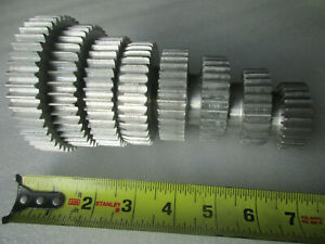 Change Gear Set Lathe Tool Lot Of 8 Spur Gears 7 8 Bore Aluminum