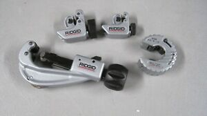 Ridgid Tubing Cutters Great Starter Set 4 Pcs