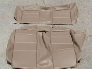 Bmw E30 325i 318i 325is Rear Seats Upholstery Kit Conv t Natural Beautiful New